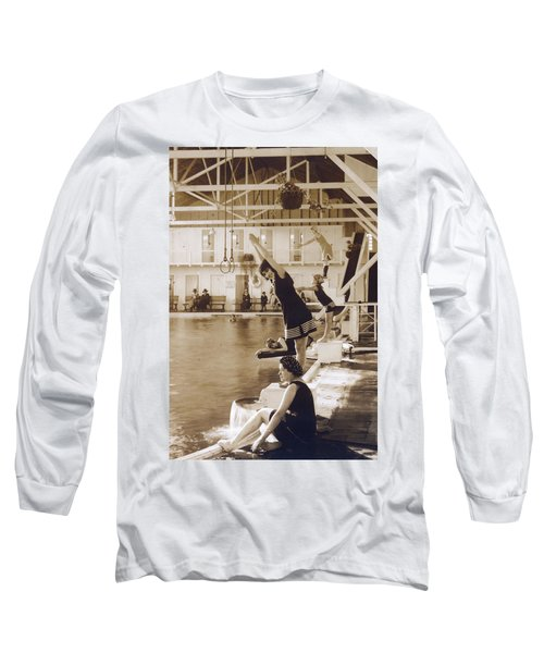 Girls In Plunge Long Sleeve T-Shirt