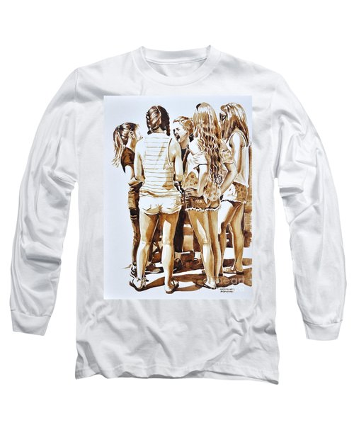 Girls Summer Fun Long Sleeve T-Shirt