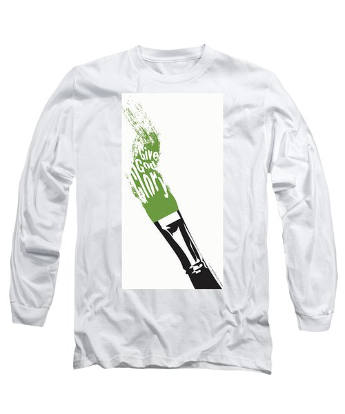 Give God Glory  Long Sleeve T-Shirt by Christopher Marion Thomas