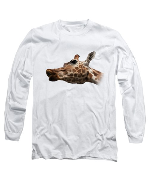 Give Us A Kiss On Transparent Background Long Sleeve T-Shirt