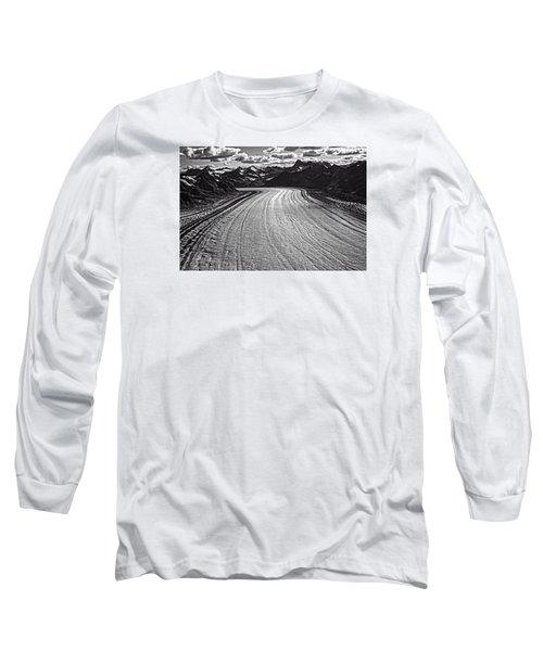 Glacier Field Alaska Long Sleeve T-Shirt