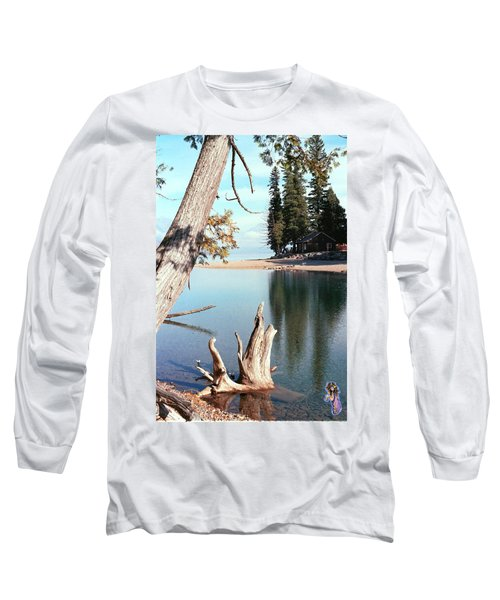 Glacier National Park 4 Long Sleeve T-Shirt