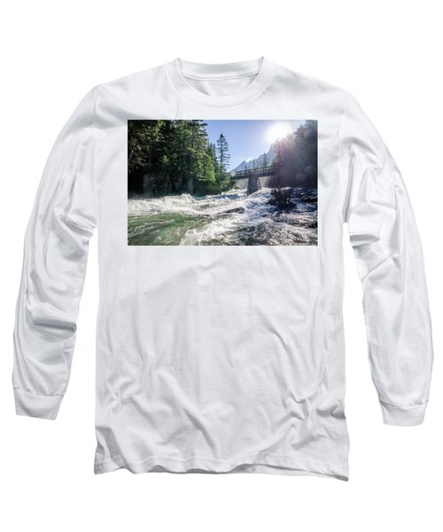 Glacier National Park Beauty Long Sleeve T-Shirt