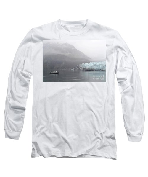 Long Sleeve T-Shirt featuring the photograph Glacier Ride by Zawhaus Photography