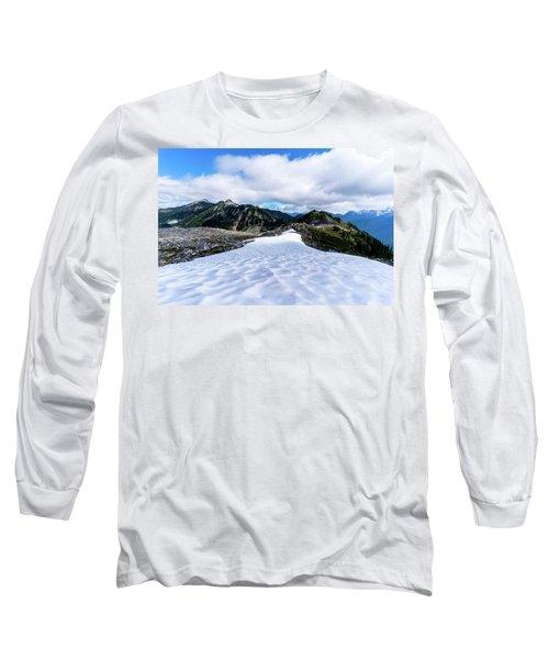 Glaciers At North Cascades Long Sleeve T-Shirt