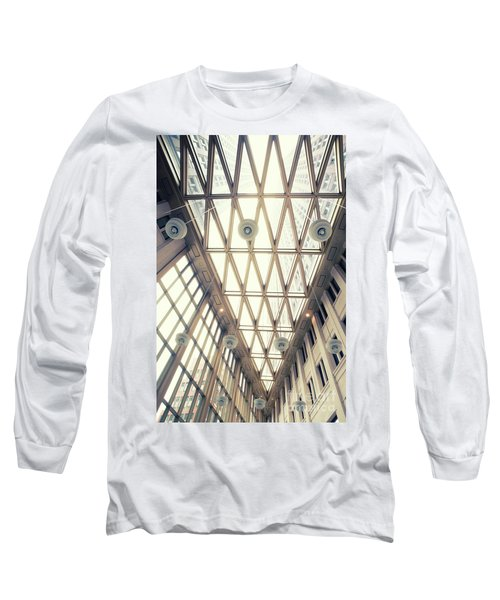 glass ceiling in hall of  new State office  Long Sleeve T-Shirt