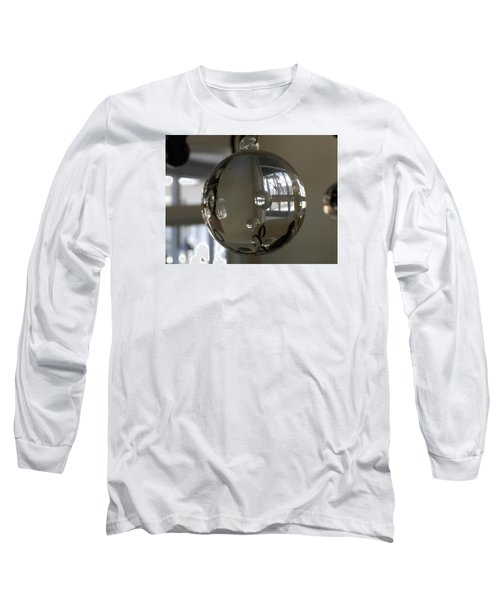Glass Reflectons Long Sleeve T-Shirt by Russell Keating