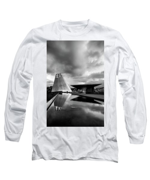Glass Long Sleeve T-Shirt by Ryan Manuel