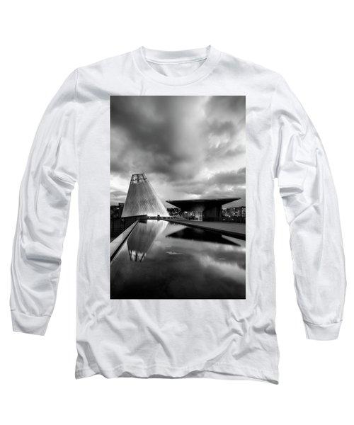 Glass Long Sleeve T-Shirt by Ryan Manuel