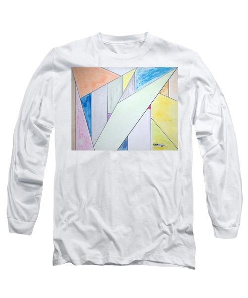Glass-scrapers Long Sleeve T-Shirt by J R Seymour