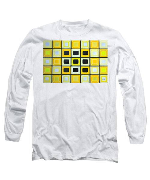 Glass Wall Long Sleeve T-Shirt by Lorna Maza