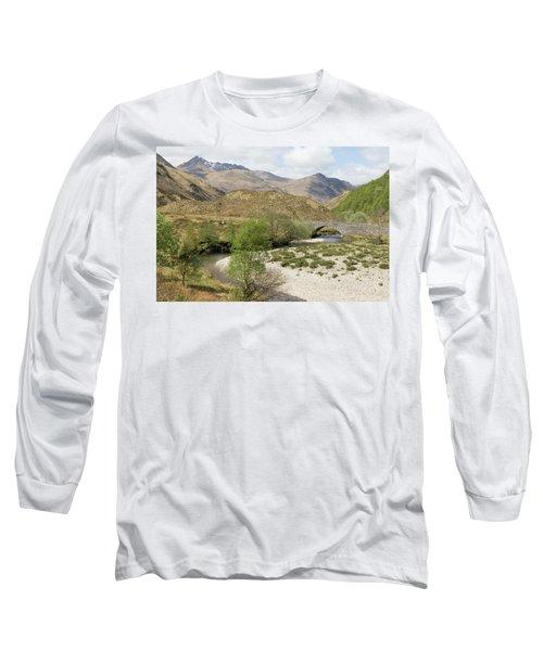 Glen Shiel - Scotland Long Sleeve T-Shirt