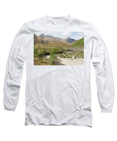 Long Sleeve T-Shirt featuring the photograph Glen Shiel - Scotland by Karen Van Der Zijden