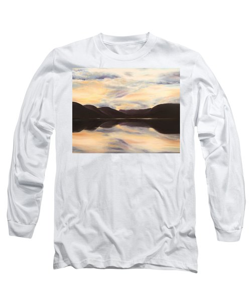 Long Sleeve T-Shirt featuring the painting Glencoe by Elizabeth Lock