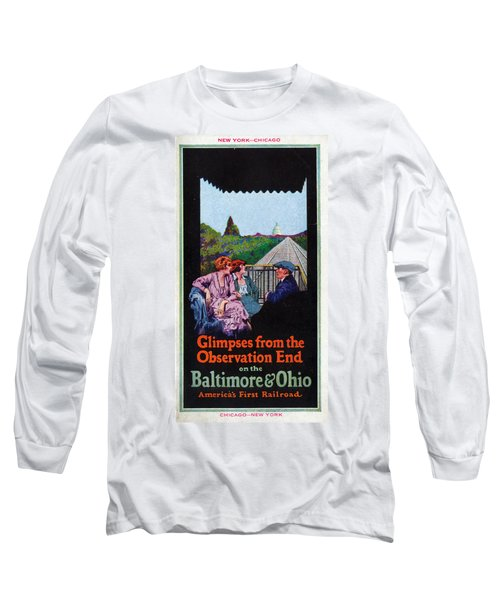 Glimpses From The Observation End Long Sleeve T-Shirt