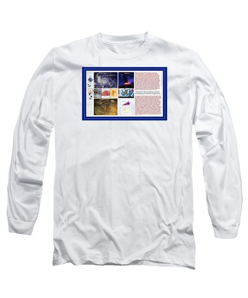 Glimpsing Divinity Long Sleeve T-Shirt by Peter Hedding