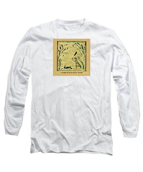 Glooscap Kills The Wolf Long Sleeve T-Shirt