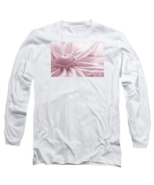 Gloriosa Daisy In Pink  Long Sleeve T-Shirt by Sandra Foster