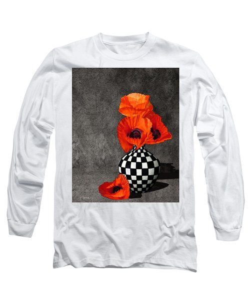 Glorious Poppies Long Sleeve T-Shirt