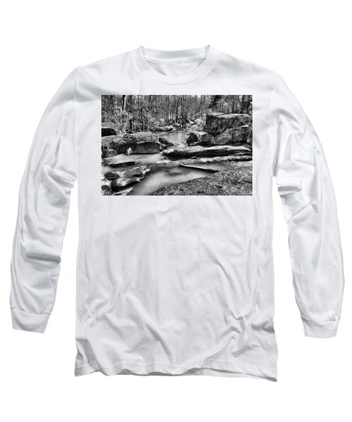 Long Sleeve T-Shirt featuring the digital art Glow Water by Greg Sharpe