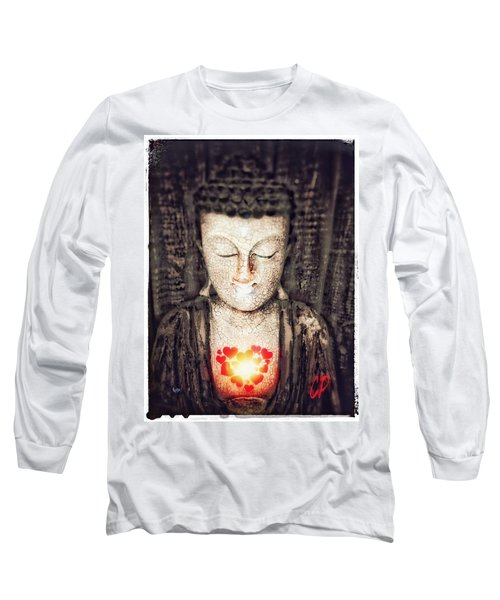 Glowing Heart Long Sleeve T-Shirt