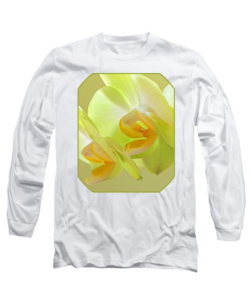 Glowing Orchid - Lemon And Lime Long Sleeve T-Shirt