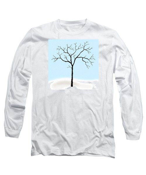 Gnarled In Winter Long Sleeve T-Shirt by Alycia Christine