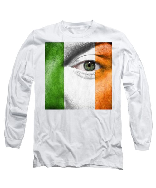 Go Ireland Long Sleeve T-Shirt by Semmick Photo