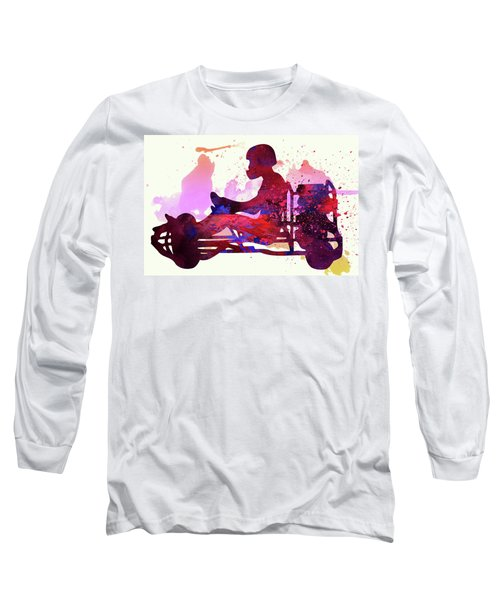 Go-karting Long Sleeve T-Shirt