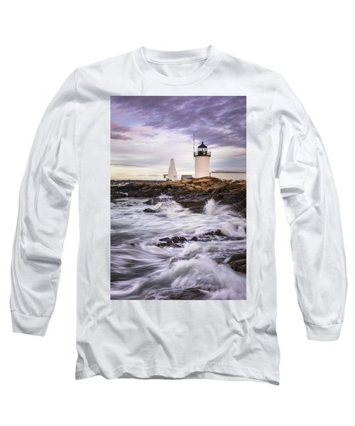 Goat Island Lighhouse Long Sleeve T-Shirt