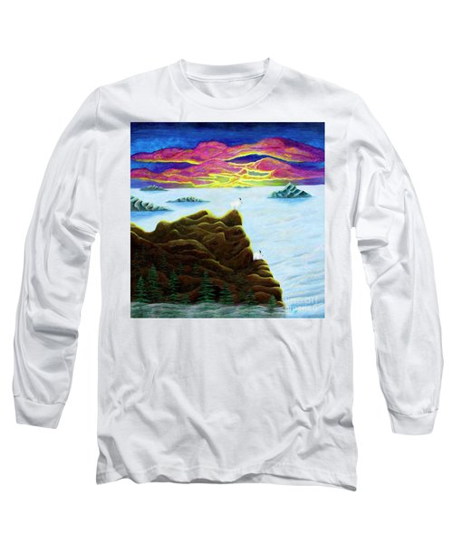 Goats On Dragons Long Sleeve T-Shirt
