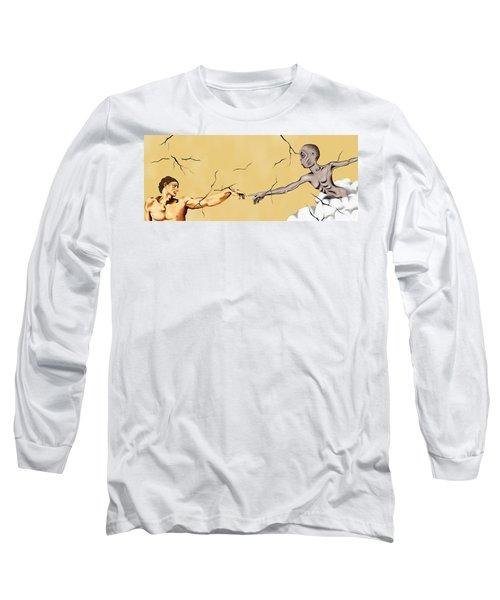 God And Man Long Sleeve T-Shirt