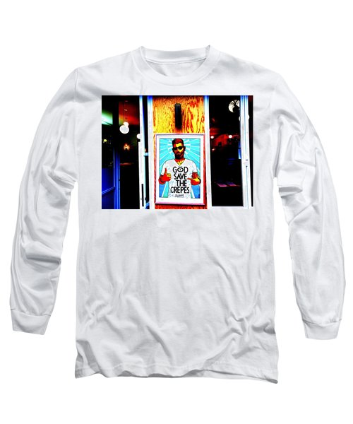 God Save The Crepes Long Sleeve T-Shirt