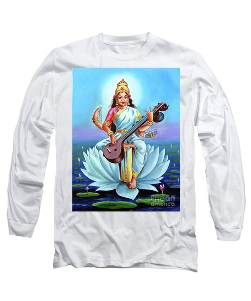 Goddess Of Wisdom And Knowledge Long Sleeve T-Shirt