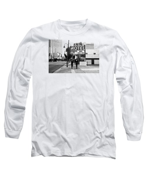 Going For Breakfast Long Sleeve T-Shirt by Vinnie Oakes