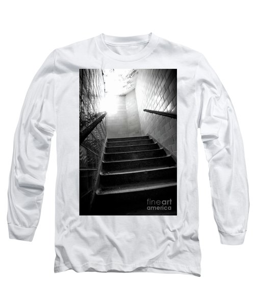 Going Up? Long Sleeve T-Shirt by Randall Cogle