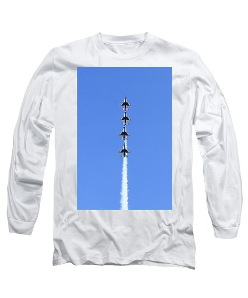 Going Vertical  Long Sleeve T-Shirt by Shoal Hollingsworth