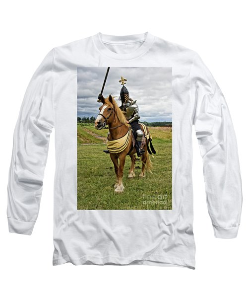 Gold And Silver Knight Long Sleeve T-Shirt