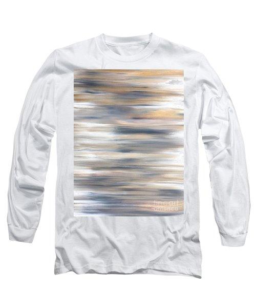 Gold Coast #21 Landscape Original Fine Art Acrylic On Canvas Long Sleeve T-Shirt