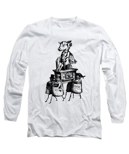 Golden Calf Grandville Transparent Long Sleeve T-Shirt