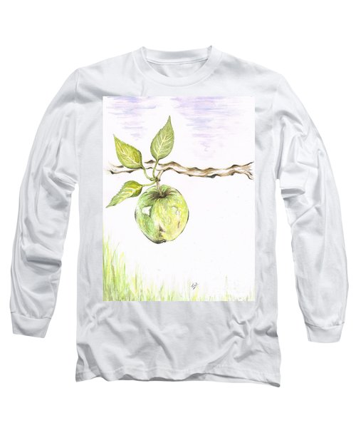 Golden Delishous Apple Long Sleeve T-Shirt