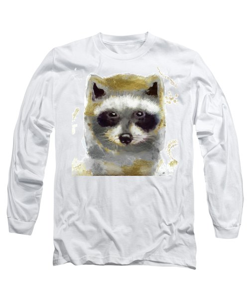 Golden Forest Raccoon  Long Sleeve T-Shirt
