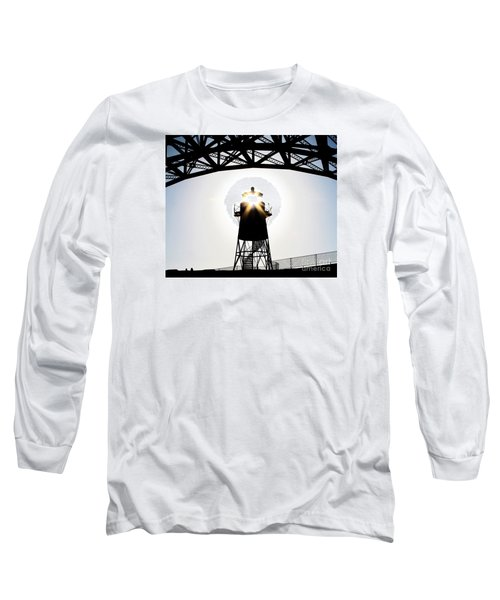 Golden Gate Above Fort Point Long Sleeve T-Shirt by John King