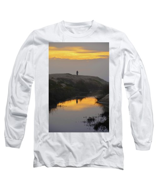 Golden Moments Long Sleeve T-Shirt by Deprise Brescia