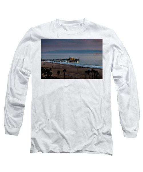 Golden Pier Long Sleeve T-Shirt