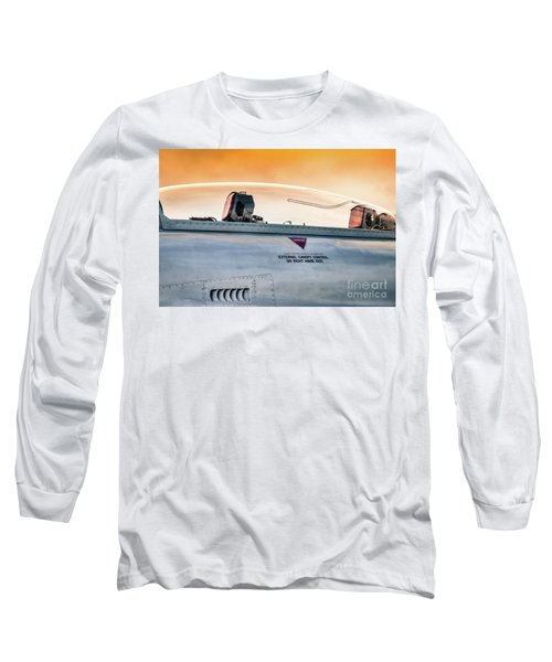 Golden Sky Long Sleeve T-Shirt by Lawrence Burry