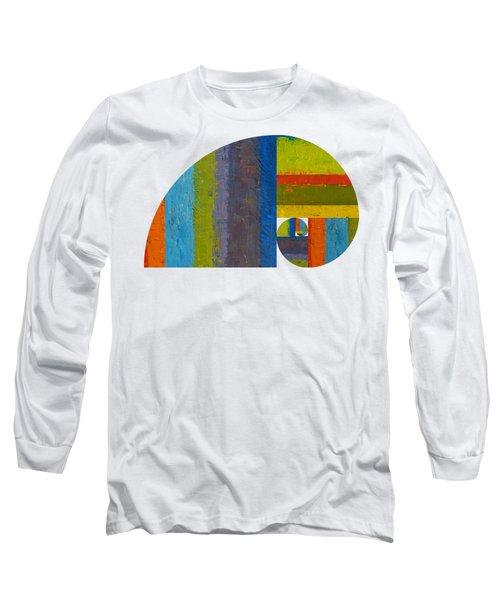 Long Sleeve T-Shirt featuring the digital art Golden Spiral Study by Michelle Calkins