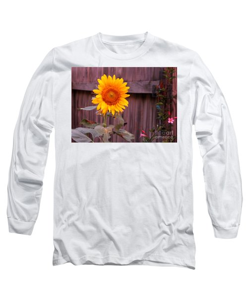 Golden Sunflower Long Sleeve T-Shirt