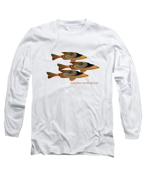 Golden Swirlbacks Long Sleeve T-Shirt