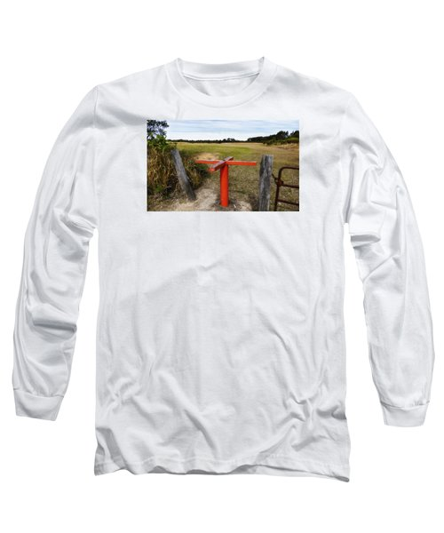Long Sleeve T-Shirt featuring the photograph Golf Range 01 by Kevin Chippindall